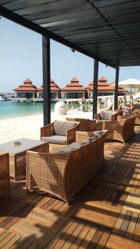The Beach Bar where we often had lunch.